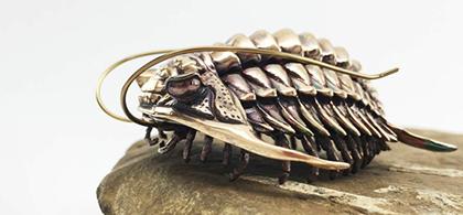 3D-printed trilobite