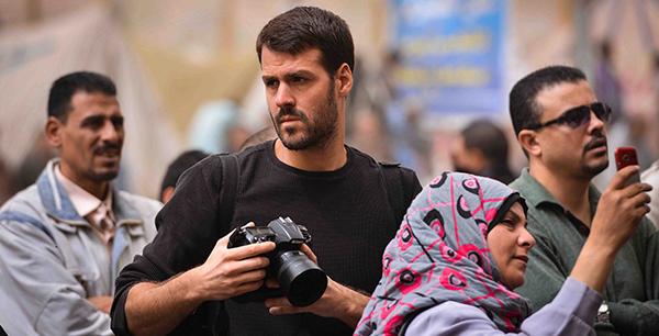 War photojournalist Jonathan Alpeyrie, AB'03