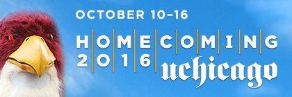 October 10-16, UChicago Homecoming 2016