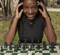 Chess player Darrian Robinson, AB'16