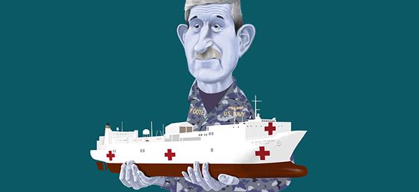US Navy medic Frederick Foote, AB'80