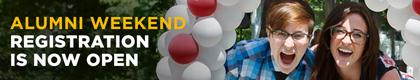 Alumni Weekend registration is now open